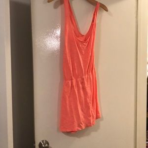Old navy coral sun dress size xl